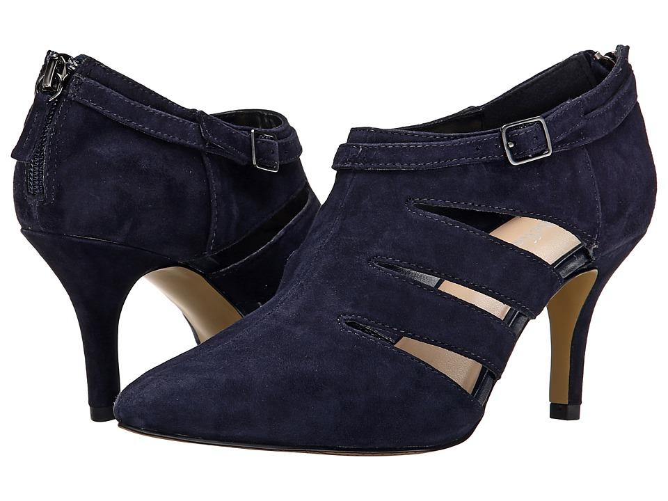 Bella-Vita Dylan (Navy Suede) High Heels