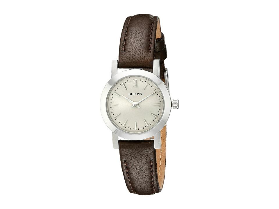 Bulova - Dress - 96L210 (Brown) Dress Watches