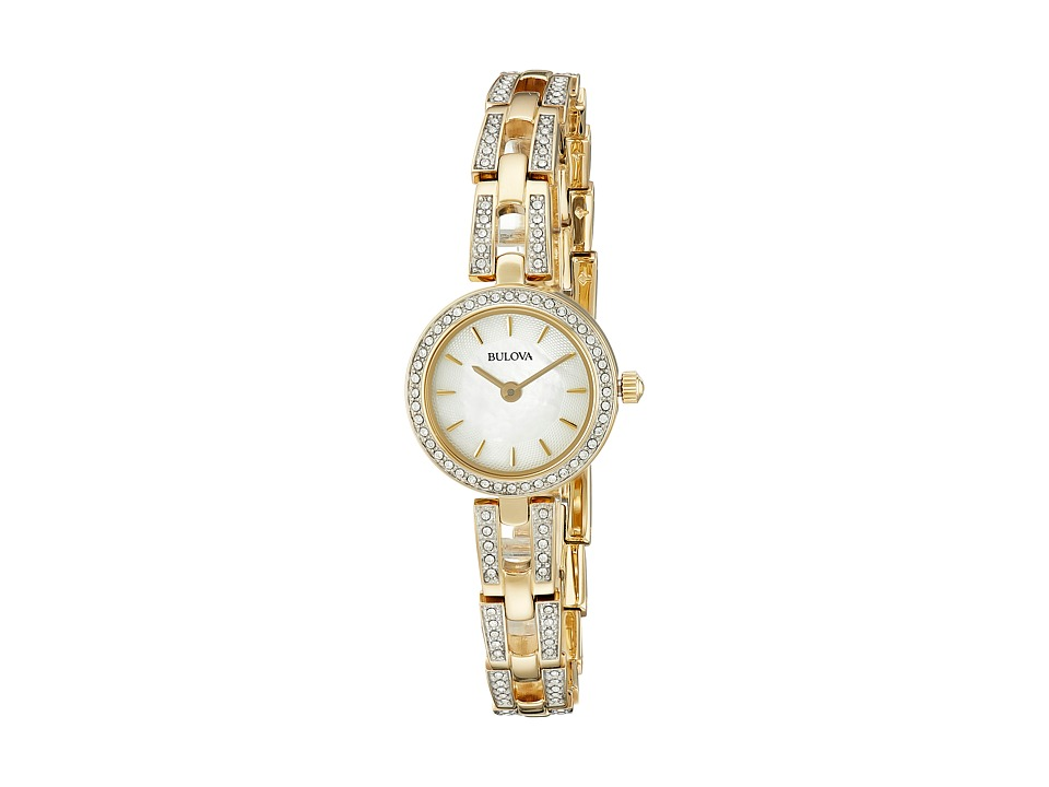 Bulova - Crystal - 98L213 (Two-Tone) Dress Watches