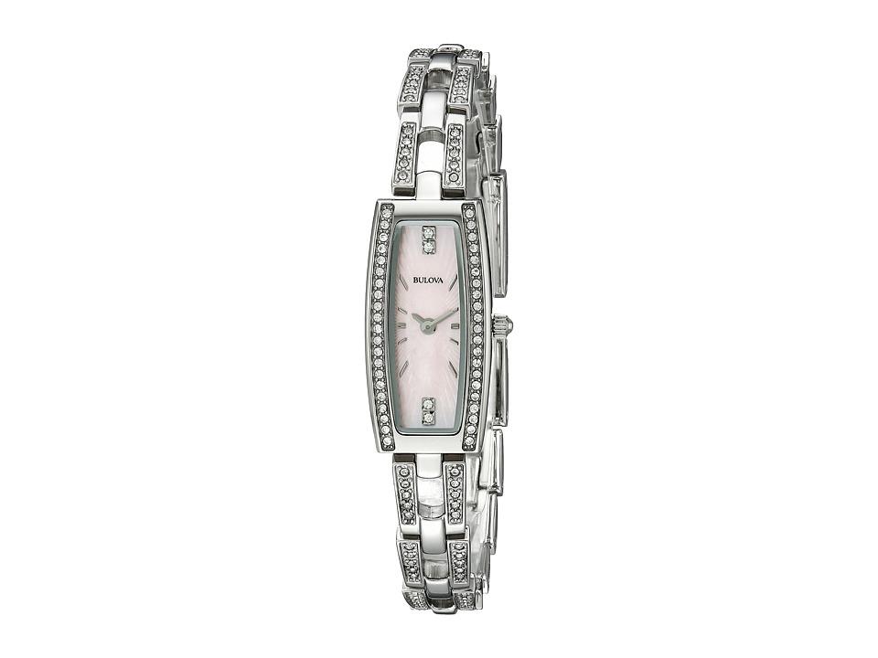 Bulova - Crystal - 96L208 (White) Dress Watches