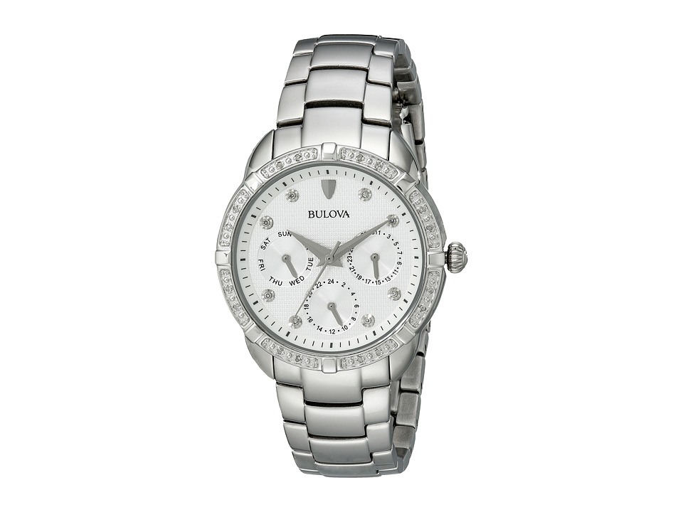 Bulova - Diamonds - 96R195 (White) Dress Watches