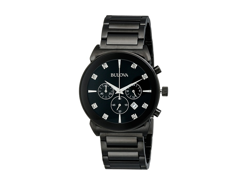 Bulova - Diamonds - 98D123 (Black) Watches
