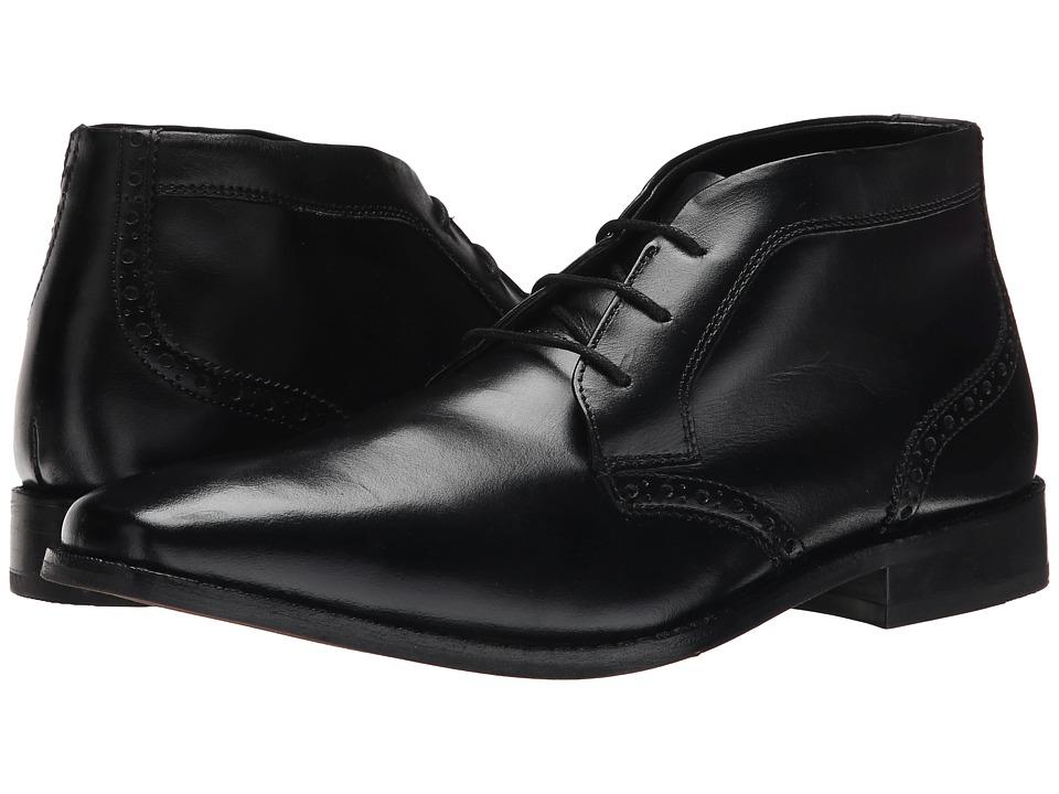 Florsheim Castellano Chukka Boot (Black Smooth) Men