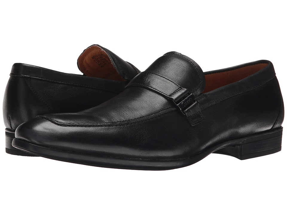 Florsheim - Burbank Bit Slip-On (Black) Men's Slip-on Dress Shoes