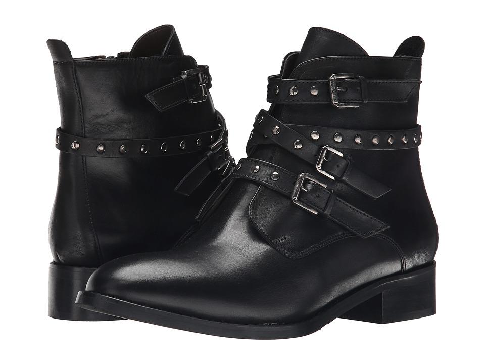 Bella-Vita Mod-Italy (Black Leather) Women