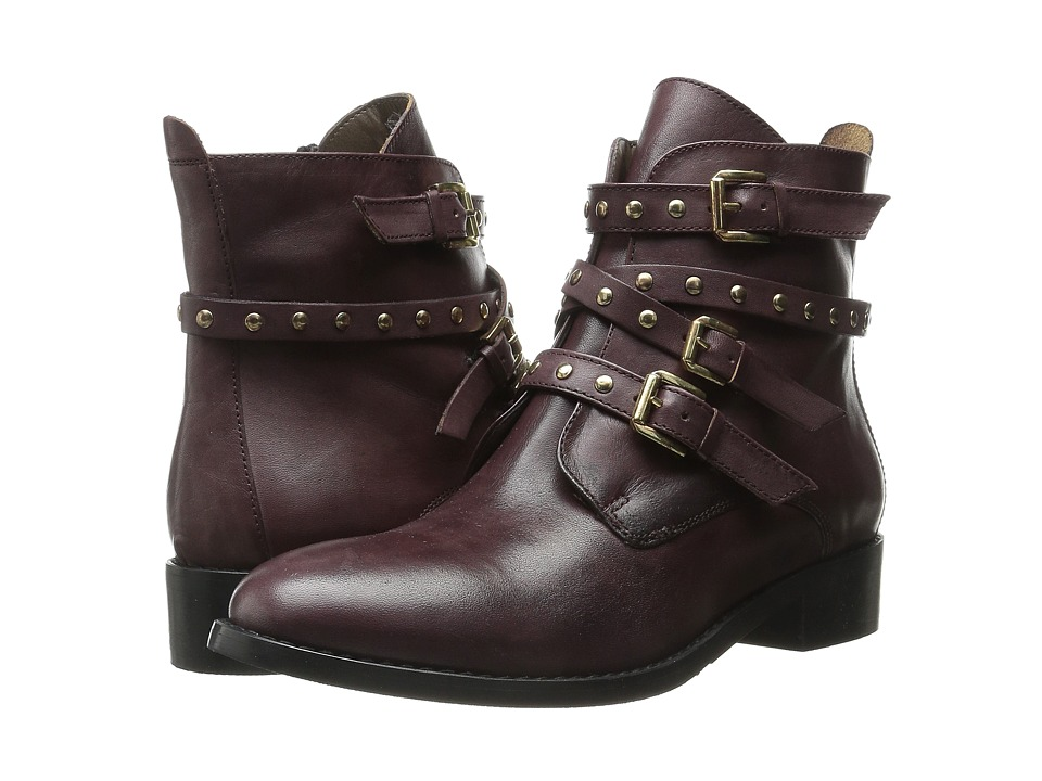 Bella-Vita - Mod-Italy (Burgundy Leather) Women's Boots