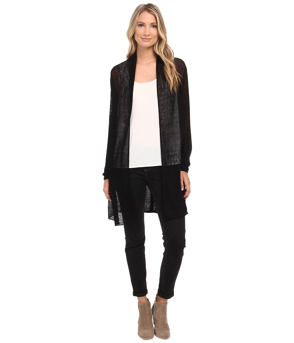 NIC+ZOE - Trench Cardy (Black Onyx) Women