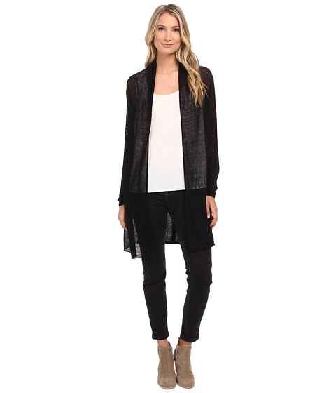 NIC+ZOE - Trench Cardy (Black Onyx) Women's Sweater