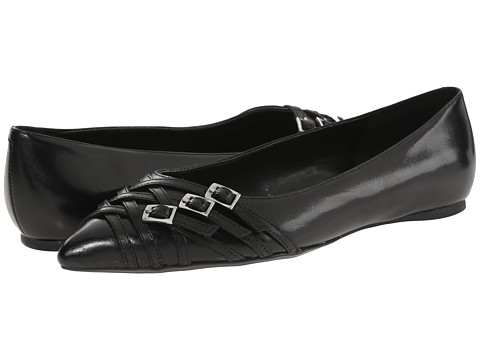 Nine West - Annabelle (Black Leather) Women