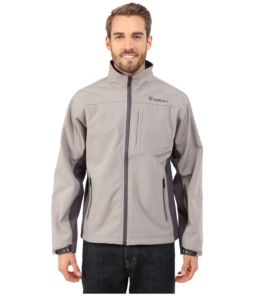 Ariat - Vernon Softshell Jacket (Cloudburst) Men's Jacket