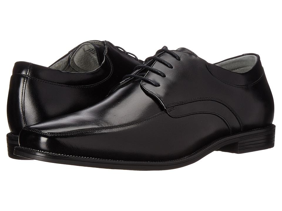 Florsheim - Forum Moc Toe Oxford (Black Smooth) Men's Lace Up Moc Toe Shoes