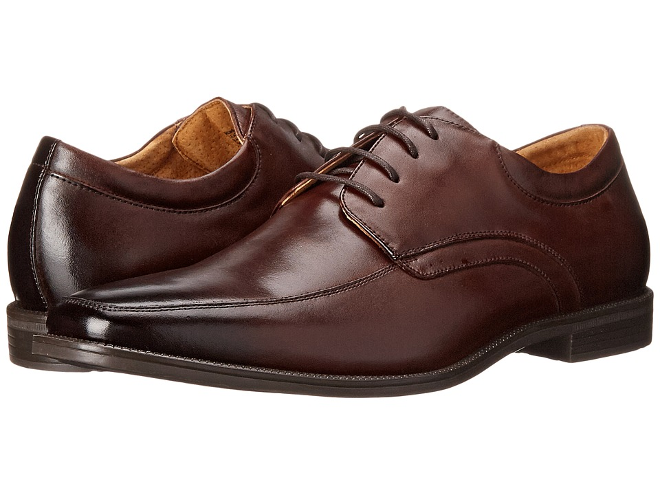 Florsheim - Forum Moc Toe Oxford (Brown Smooth) Men's Lace Up Moc Toe Shoes
