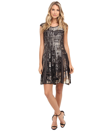 NIC+ZOE - Adagio Twirl Dress (Multi) Women
