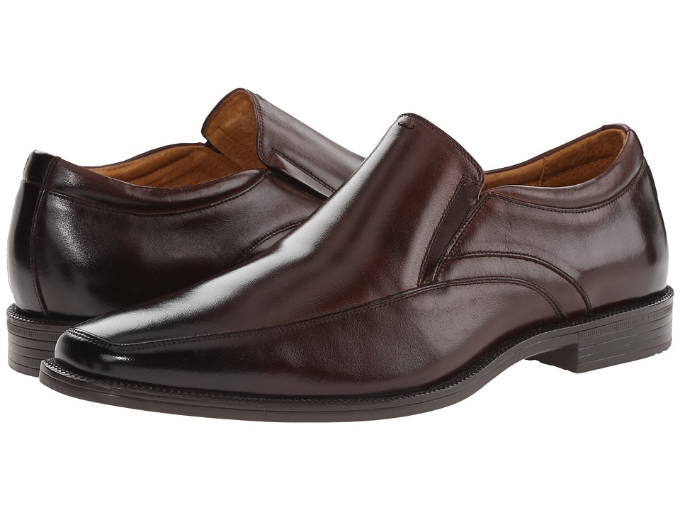 Florsheim - Forum Moc Toe Slip-On (Brown Smooth) Men