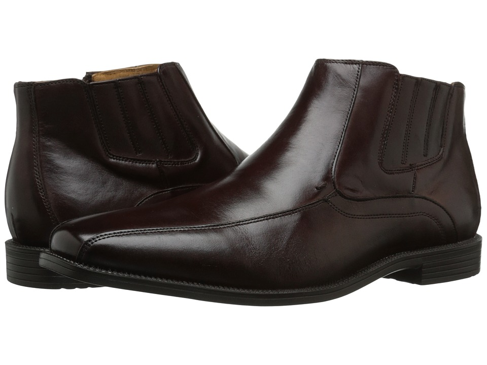 Florsheim - Forum Bike Toe Boot (Brown Smooth) Men's Zip Boots