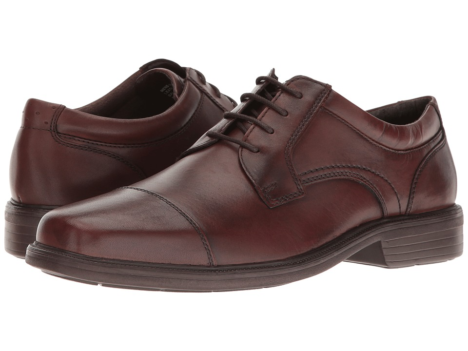 Florsheim - Rally Cap Toe Oxford (Cognac Smooth) Men's Lace Up Cap Toe Shoes