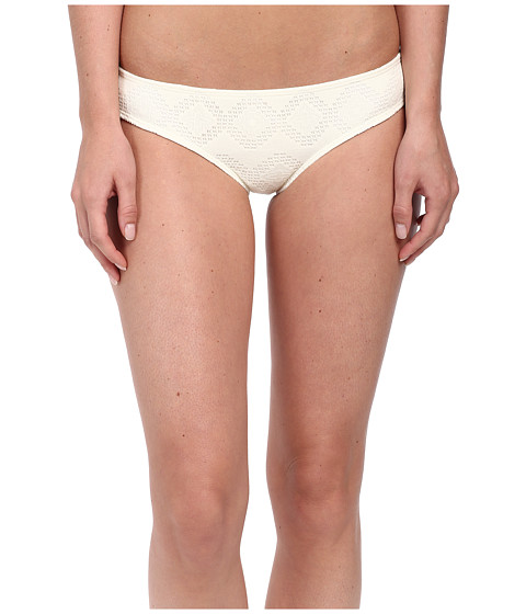 Roxy - Lacy Days Cheeky Scooter Swim Bottom (Crochet Sea Spray) Women