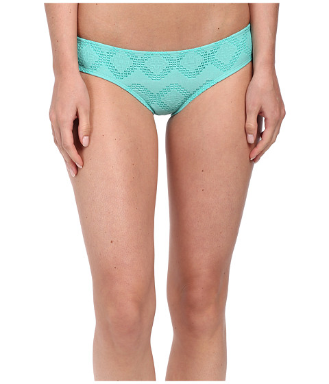 Roxy - Lacy Days Cheeky Scooter Swim Bottom (Crochet Waterfall) Women's Swimwear
