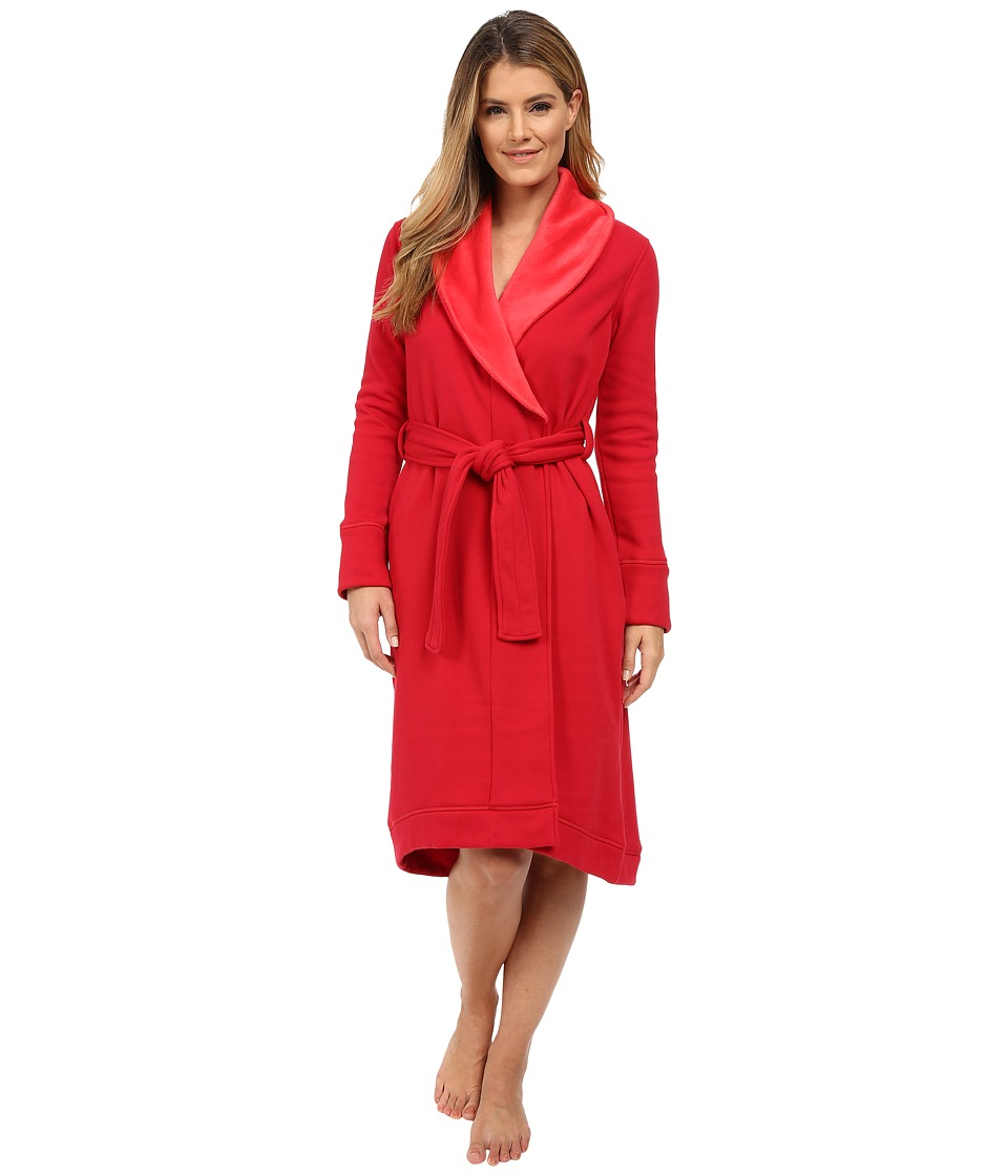 UGG - Duffield Robe (Scarlett) Women's Robe plus size,  plus size fashion plus size appare