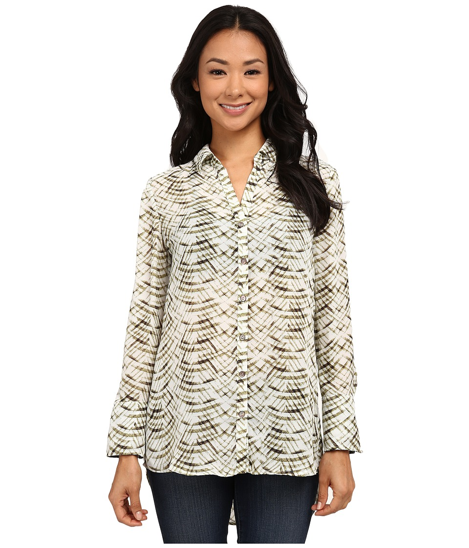 NIC+ZOE - Soft Echo Shirt (Multi) Women's Clothing