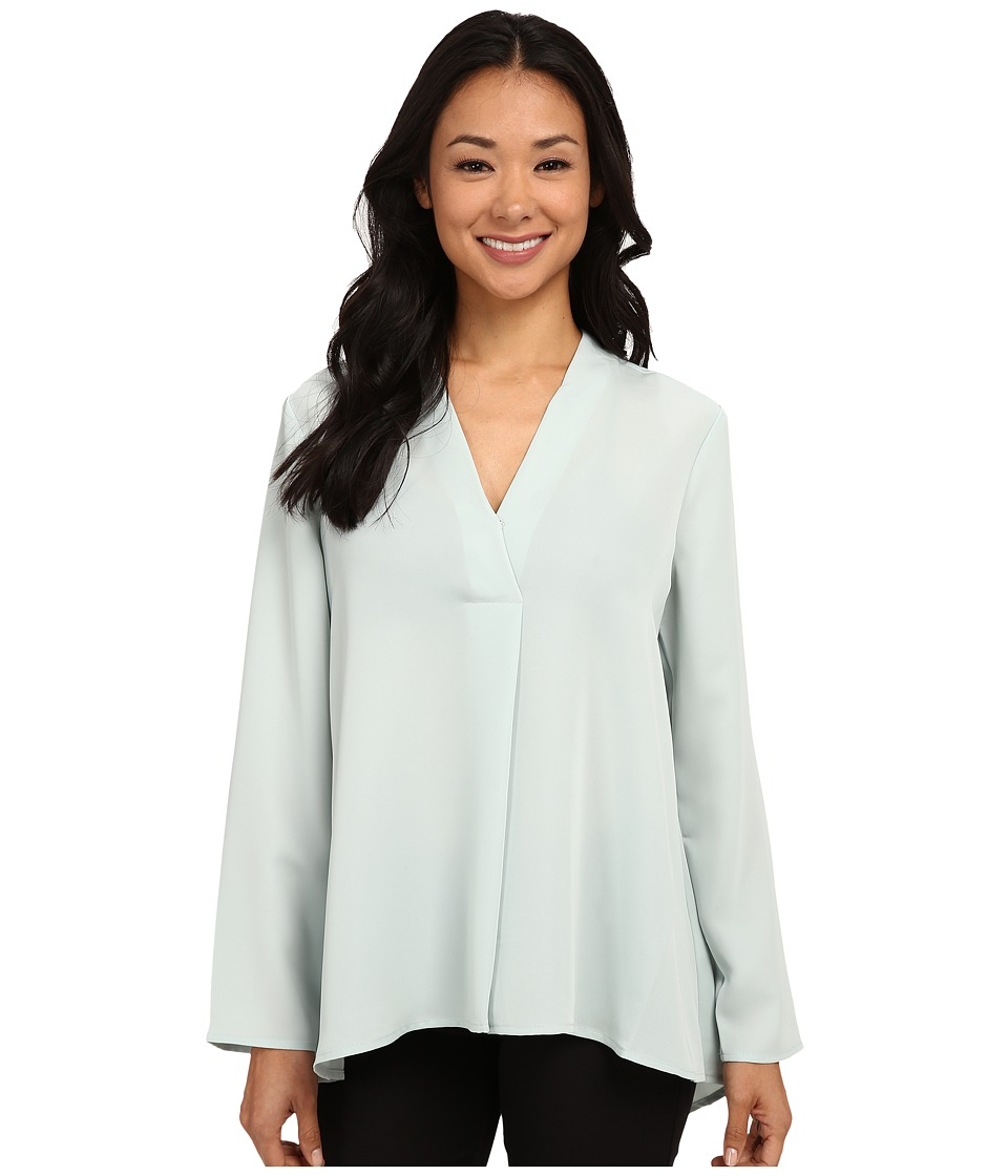 NIC+ZOE - Majestic Matte Shirt (Wintermint) Women's Long Sleeve Pullover