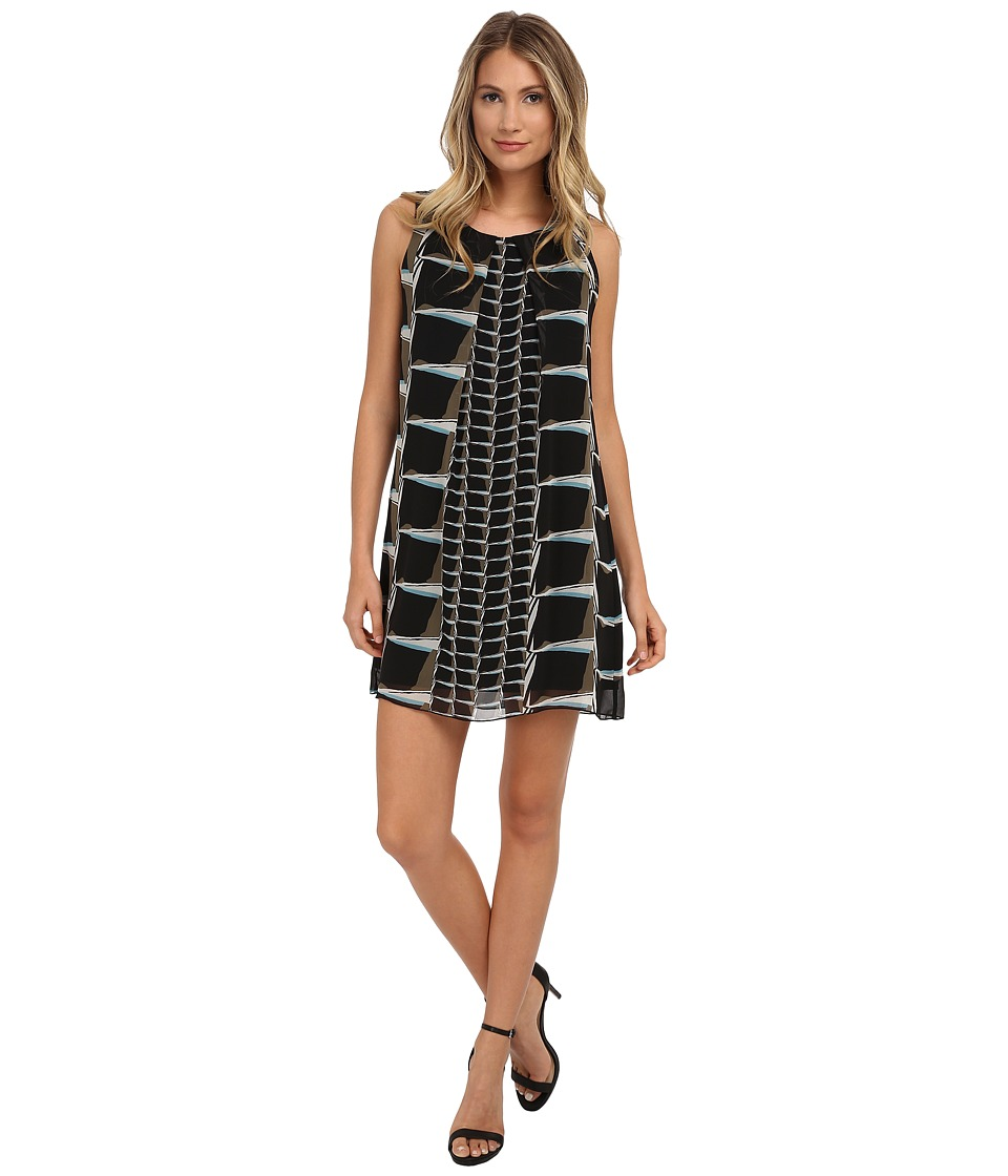 NIC+ZOE - On The Edge Dress (Multi) Women