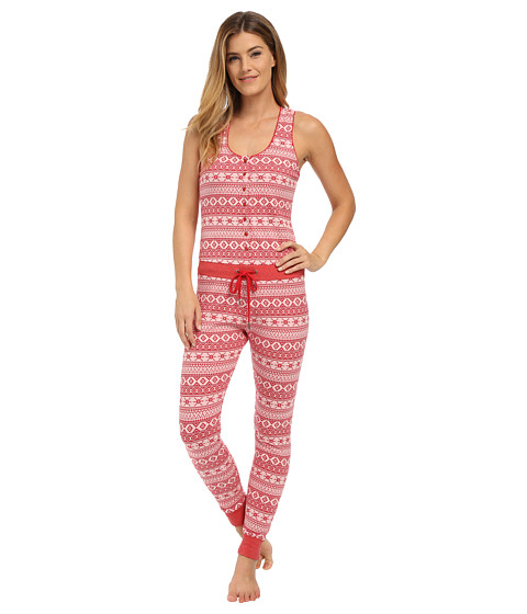 UGG - Nomie Jumpsuit (Scarlett Fair Isle) Women's Jumpsuit & Rompers One Piece