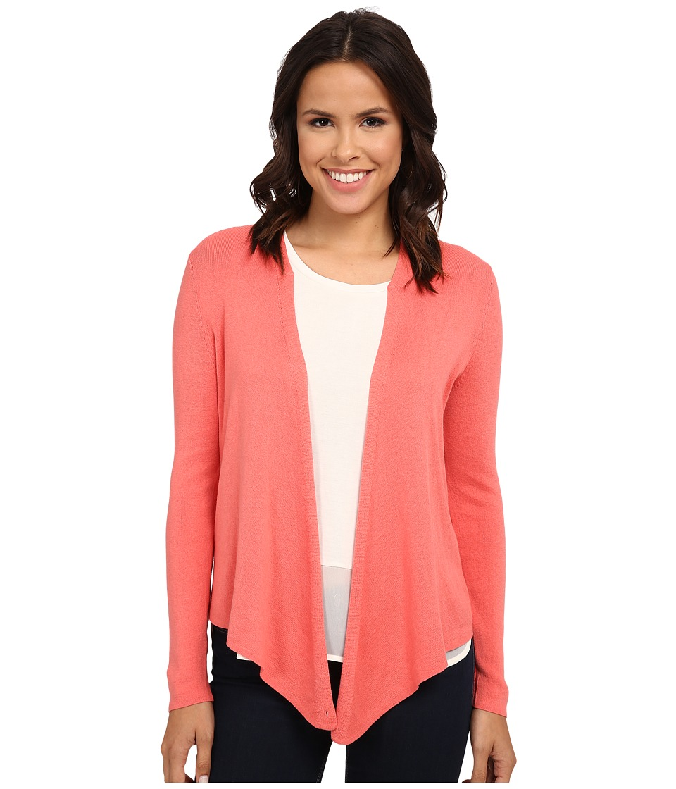 NIC+ZOE - Long-Sleeve 4-Way Cardy (Rose Sorbet) Women's Sweater