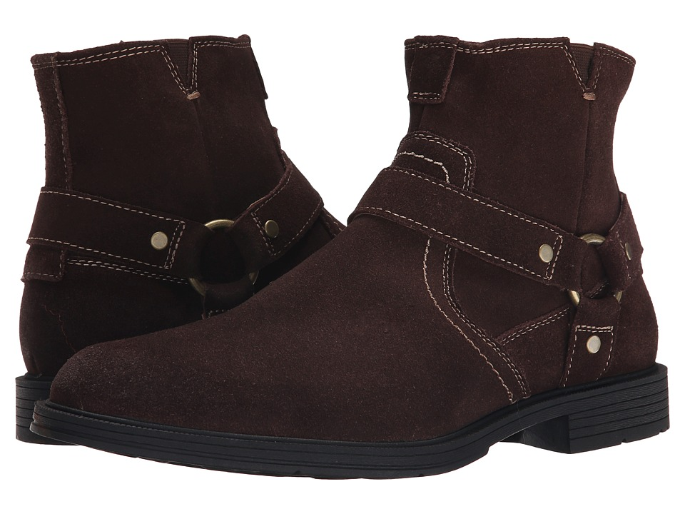 Florsheim - Mogul Harness Boot (Brown Suede) Men