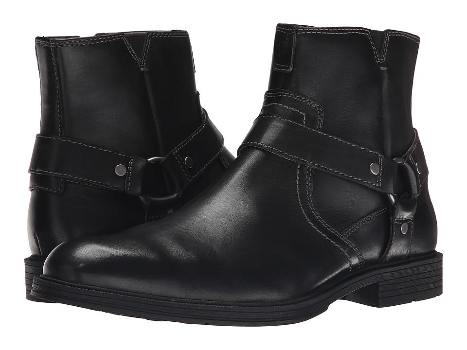 Florsheim - Mogul Harness Boot (Black Smooth) Men