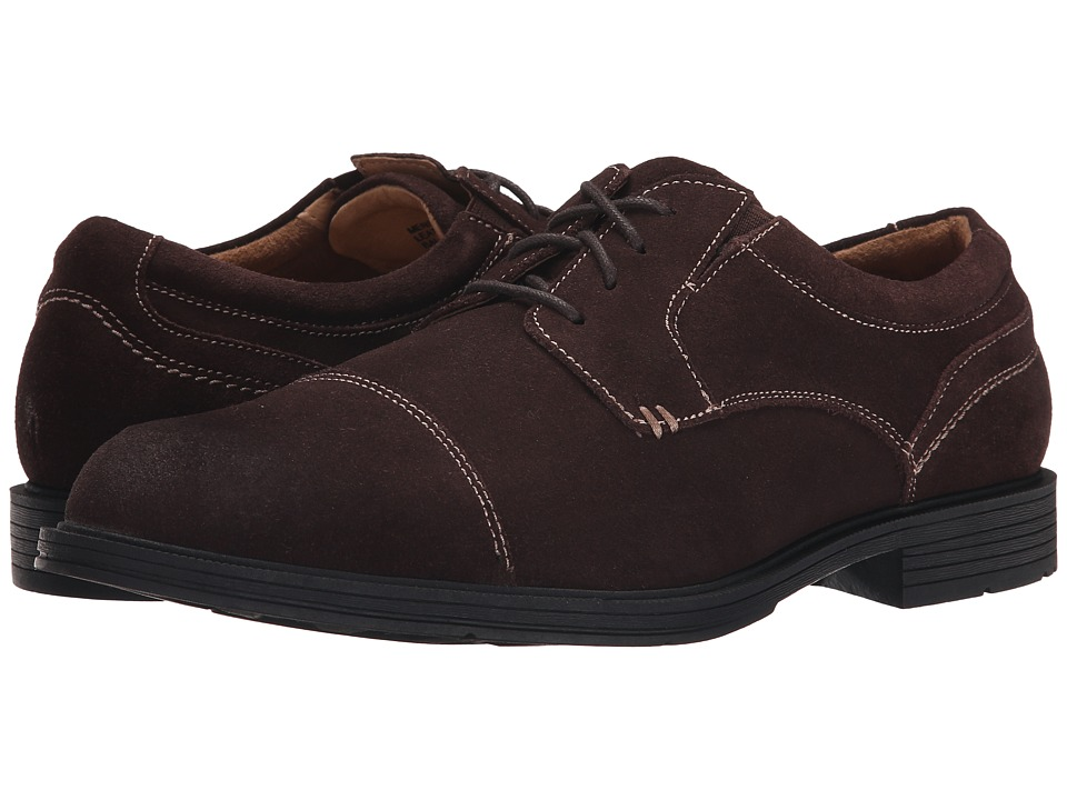Florsheim - Mogul Cap Toe Oxford (Brown Suede) Men