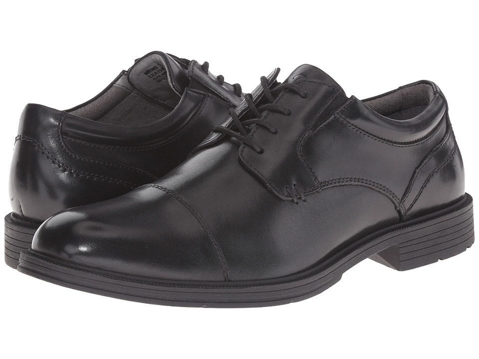 Florsheim - Mogul Cap Toe Oxford (Black Smooth) Men's Lace Up Cap Toe Shoes
