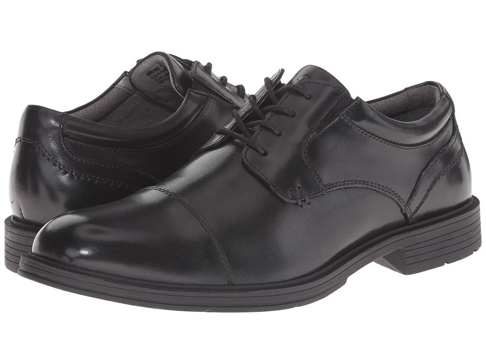 Florsheim Mogul Cap Toe Oxford (Black Smooth) Men