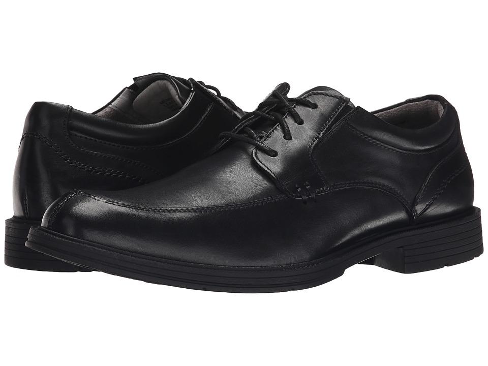 Florsheim - Mogul Moc Toe Oxford (Black Smooth) Men's Lace Up Moc Toe Shoes