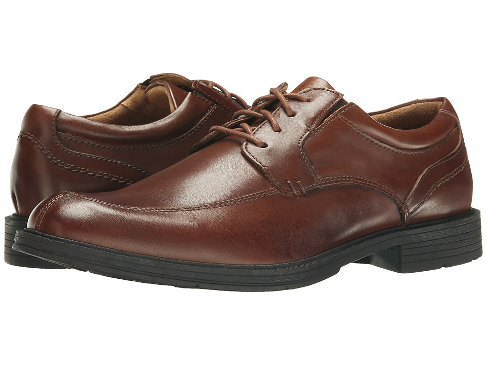 Florsheim Mogul Moc Toe Oxford (Cognac Smooth) Men