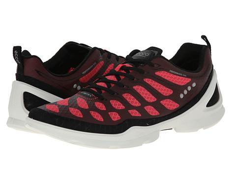 Ecco Performance - Biom Evo Racer (Black/Teaberry) Women