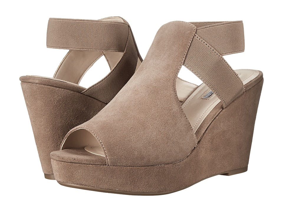 BCBGeneration - Justice (Taupe Oil Calf Suede Stretch Elastic) Women's Shoes
