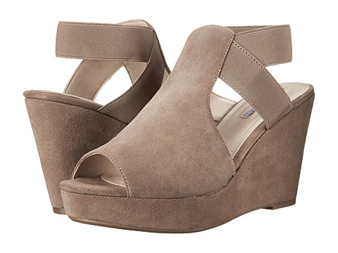 BCBGeneration - Justice (Taupe Oil Calf Suede Stretch Elastic) Women