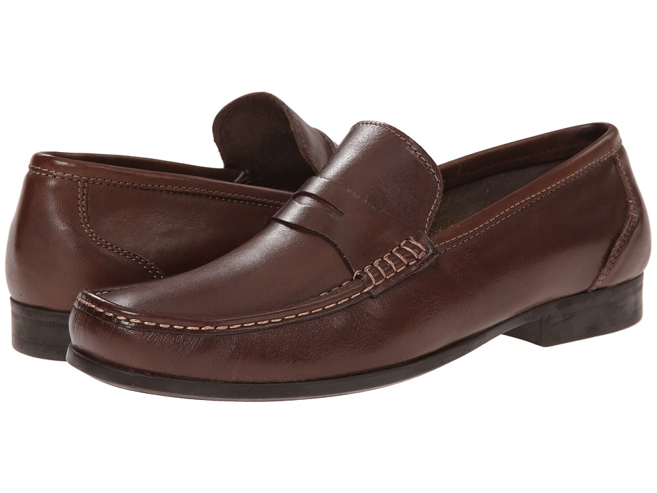 Florsheim - Felix Penny (Brown Smooth) Men's Shoes