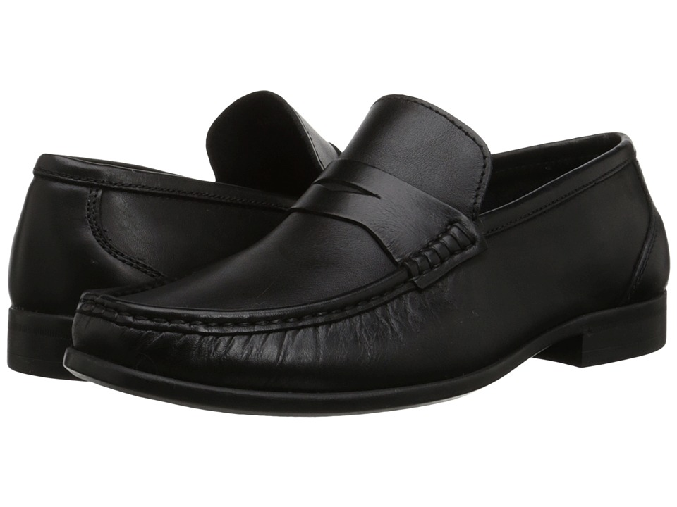 Florsheim - Felix Penny (Black Smooth) Men's Shoes