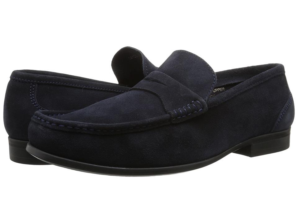 Florsheim - Felix Penny (Navy Suede) Men's Shoes