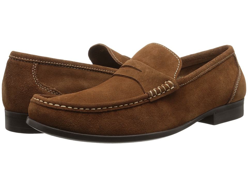 Florsheim - Felix Penny (Mocha Suede) Men's Shoes