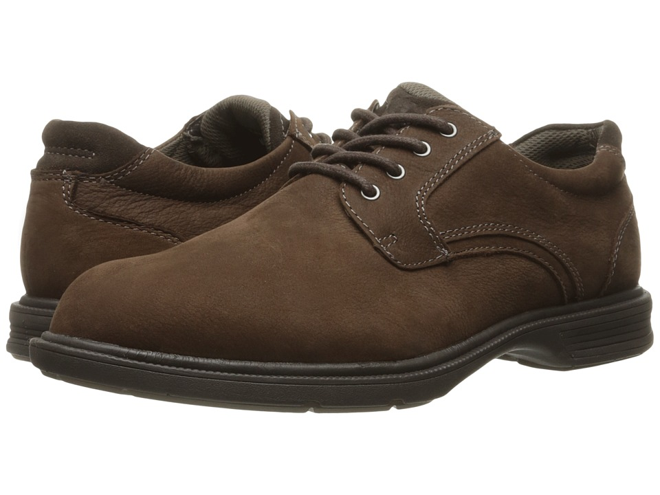 Florsheim NDNS Plain Toe Oxford (Brown Milled Nubuck) Men