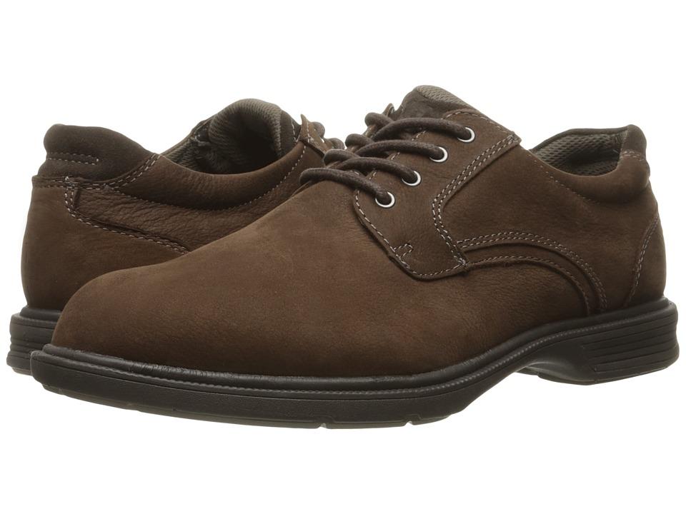 Florsheim - NDNS Plain Toe Oxford (Brown Milled Nubuck) Men's Plain Toe Shoes