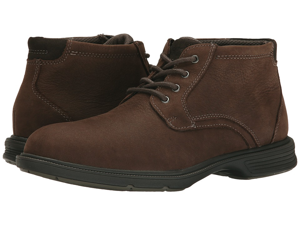 Florsheim - NDNS Chukka Boot (Brown Milled Nubuck) Men's Boots