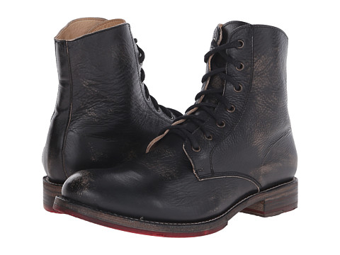 Bed Stu - Post (Black Handwash) Men's Lace-up Boots