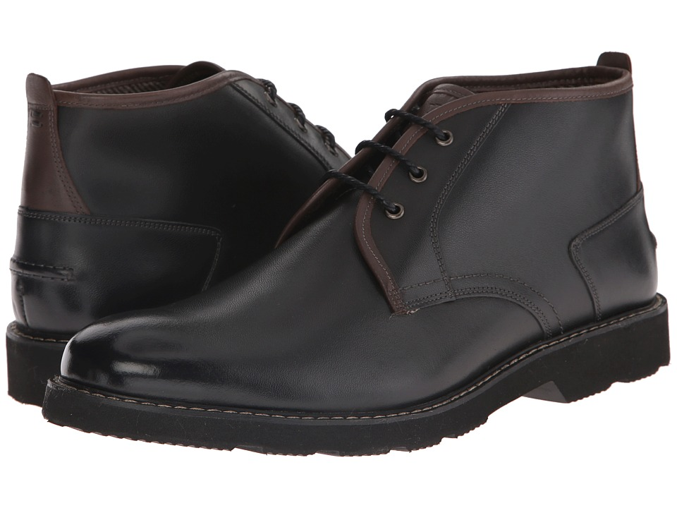 Florsheim Casey Chukka Boot (Black Smooth) Men