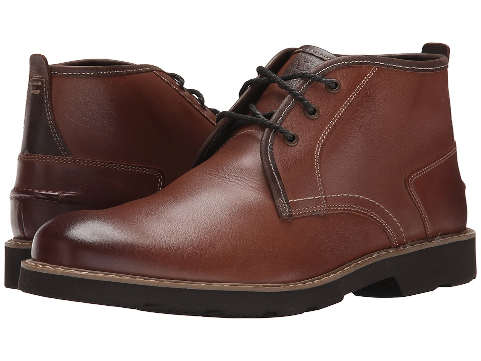 Florsheim Casey Chukka Boot (Cognac Smooth) Men