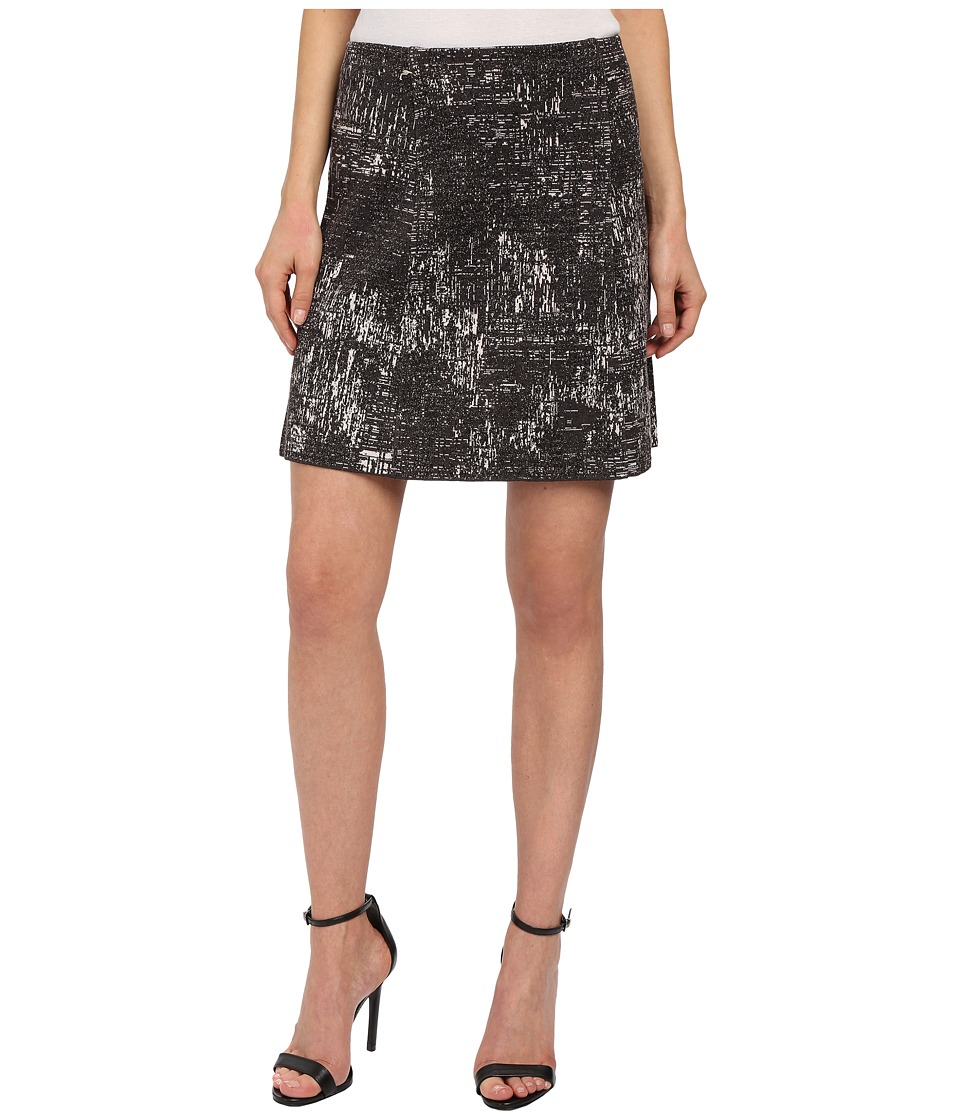 NIC+ZOE - Tailored Tapestry Skirt (Multi) Women