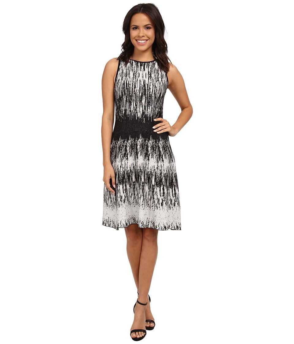 NIC+ZOE - Falling Lines Twirl Dress (Multi) Women's Dress